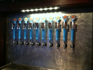 The JDub's tap handles