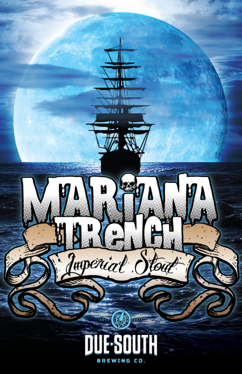 Due South Brewing Mariana Trench