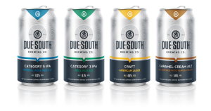 Due South's new streamlined look.