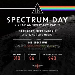 Orchid Island Brewery Spectrum Day
