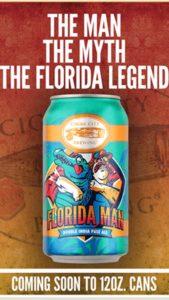 Cigar City Brewing Florida Man