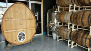 Sourglass Brewing Foeder