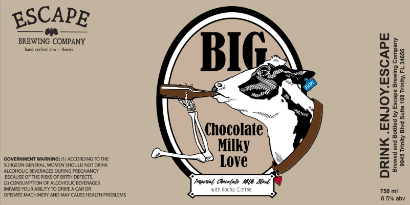 Escape Brewing Big Chocolate