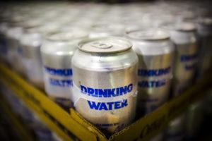 Oskar Blues Brewing Cans Water