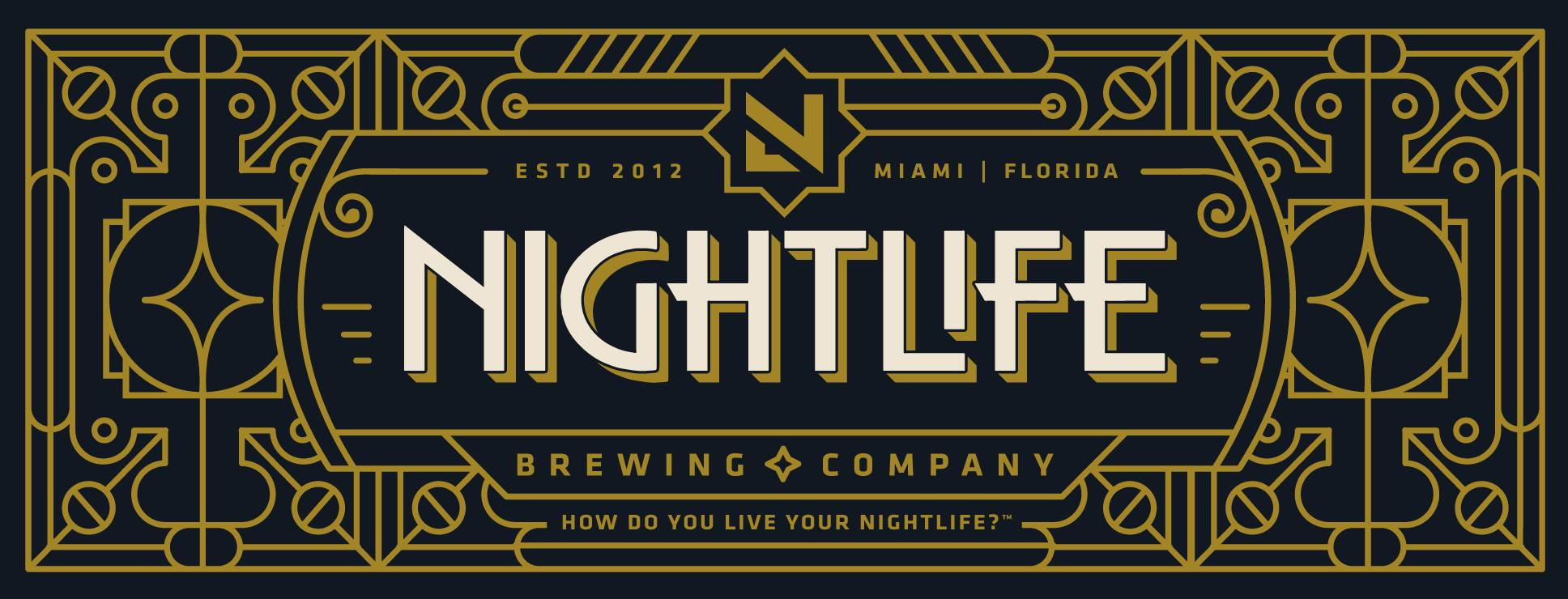 NightLife Brewing Logo