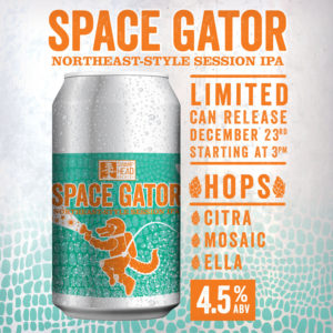 Swamp Head Brewery Space Gator New England Session IPA