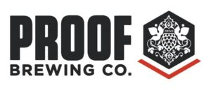 Proof Brewing Company horizontal logo