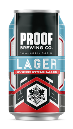 Proof Brewing Company Lager