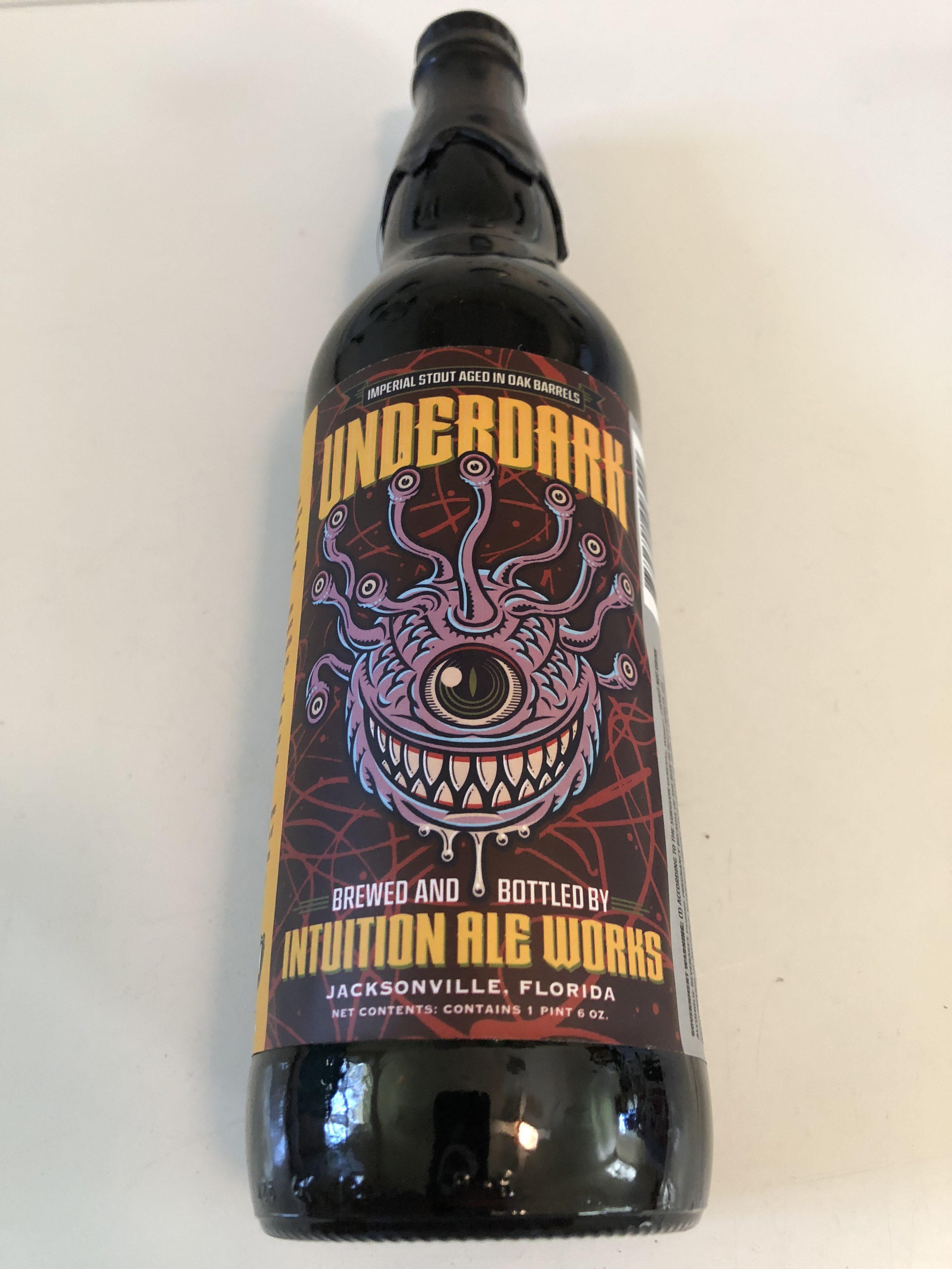 Intuition Ale Works Underdark Bottle