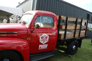 Proof Brewing Company truck