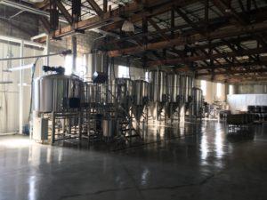 Walking Tree Brewery brewing system dark