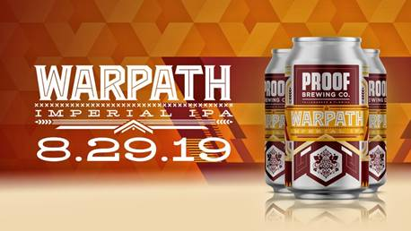 Proof Brewing Company Warpath IPA