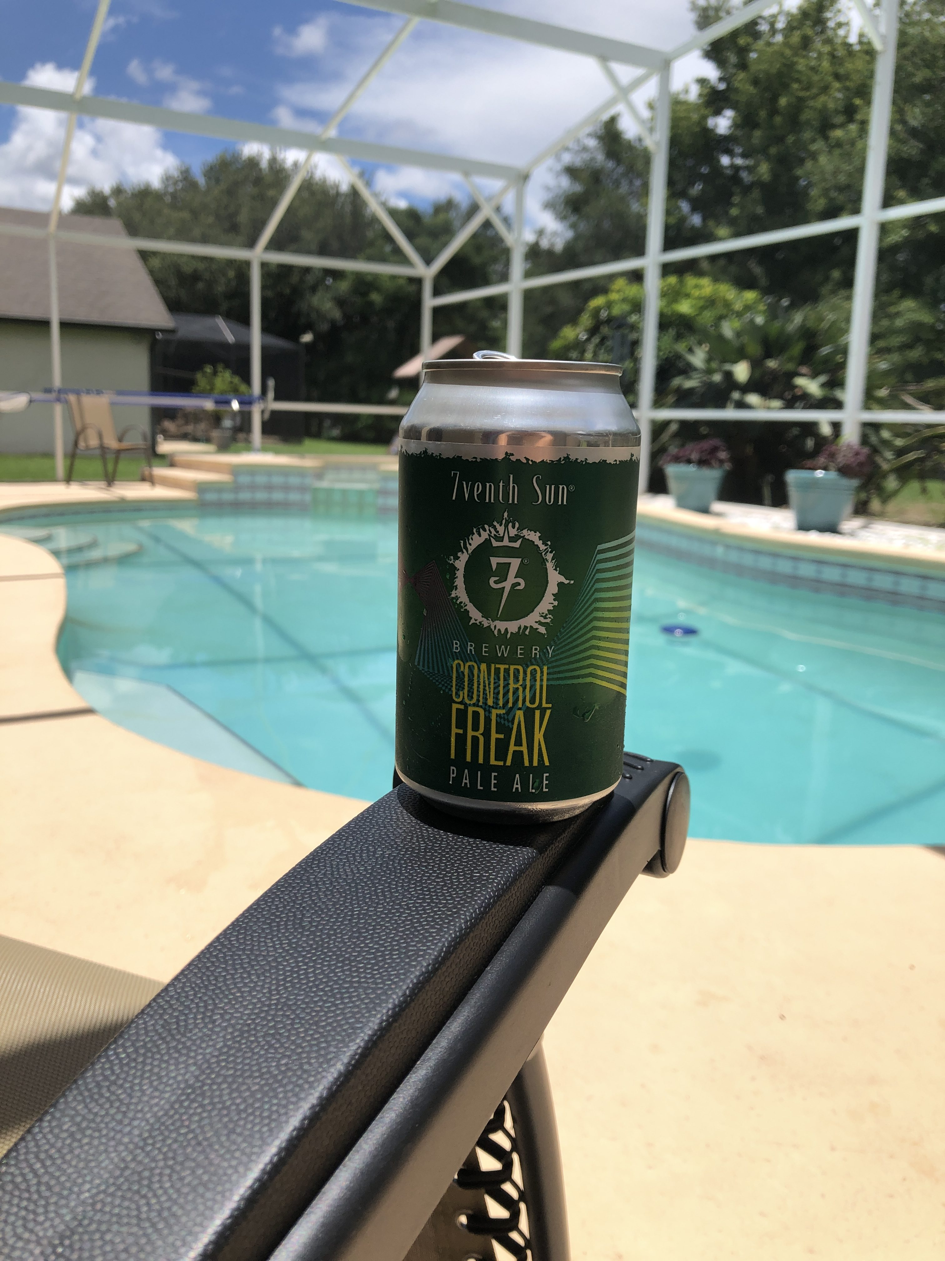 7venth Sun Control Freak by the pool