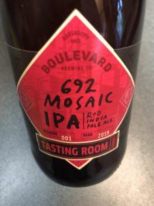 Boulevard Brewing 692 Mosaic IPA