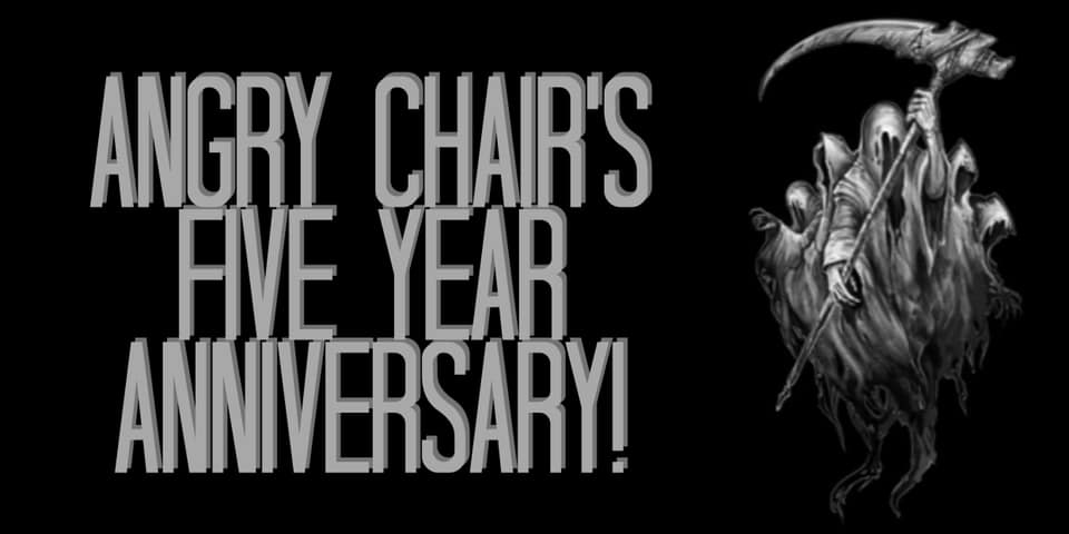 Angry Chair Brewing 5th Anniversary