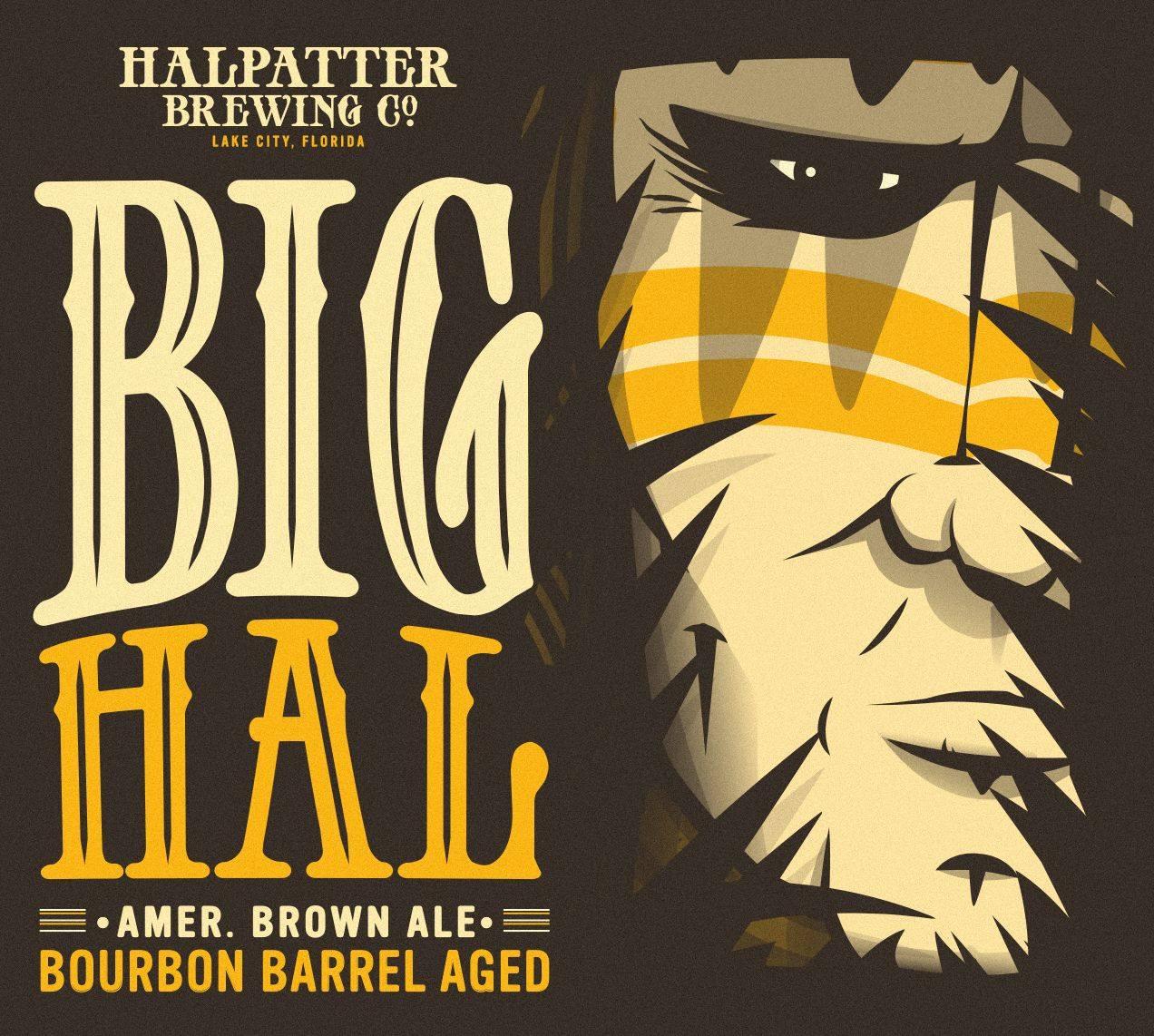 Bourbon Barrel-Aged Big Hal label