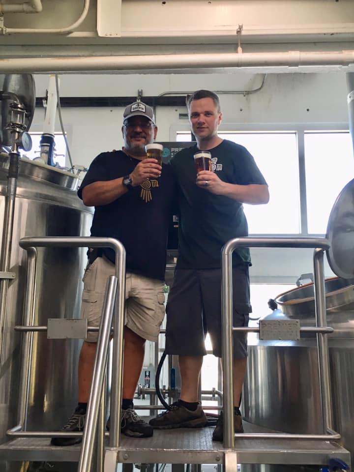 Darwin Brewing Company new brewer Blue Hellenga