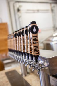 Lone Pine Brewing Tap Handles