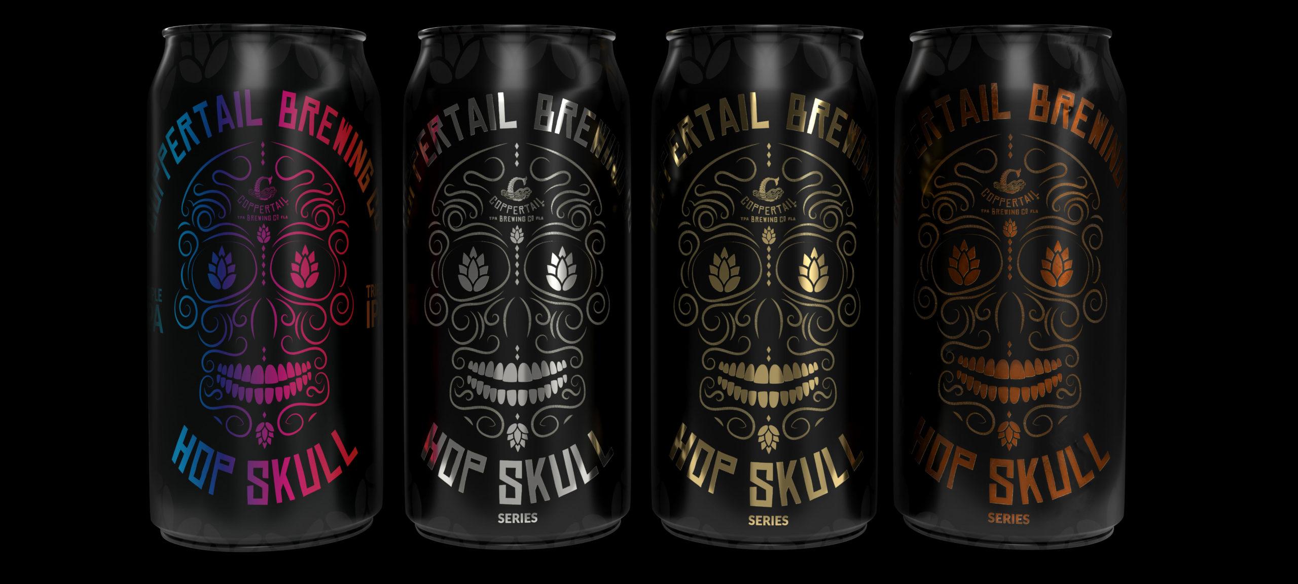 Coppertail Brewing Hop Skull Series Pics