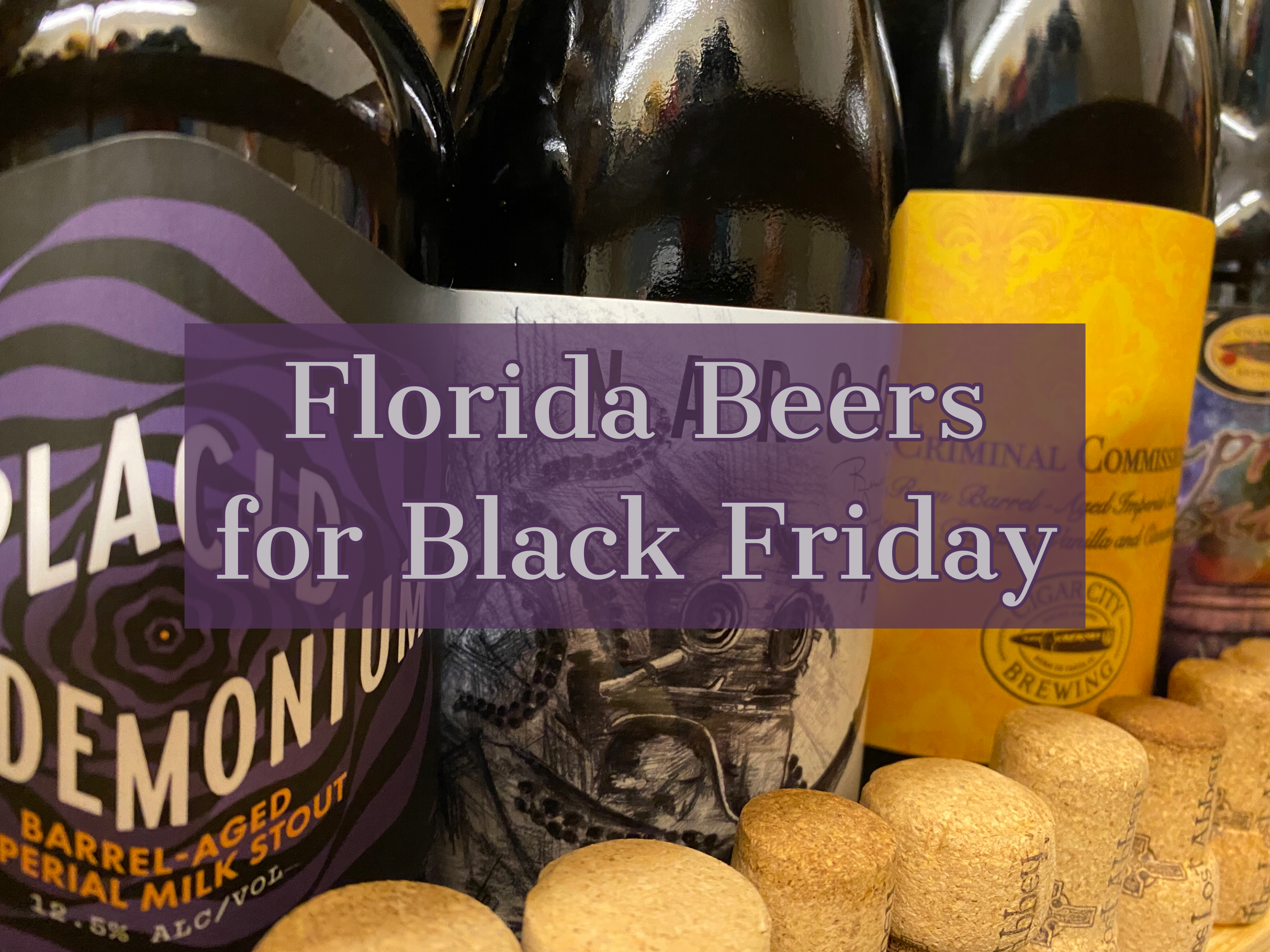 Florida Beer for Black Friday