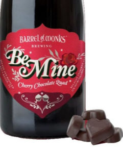 Barrel of Monks Be Mine Chocolate Quad