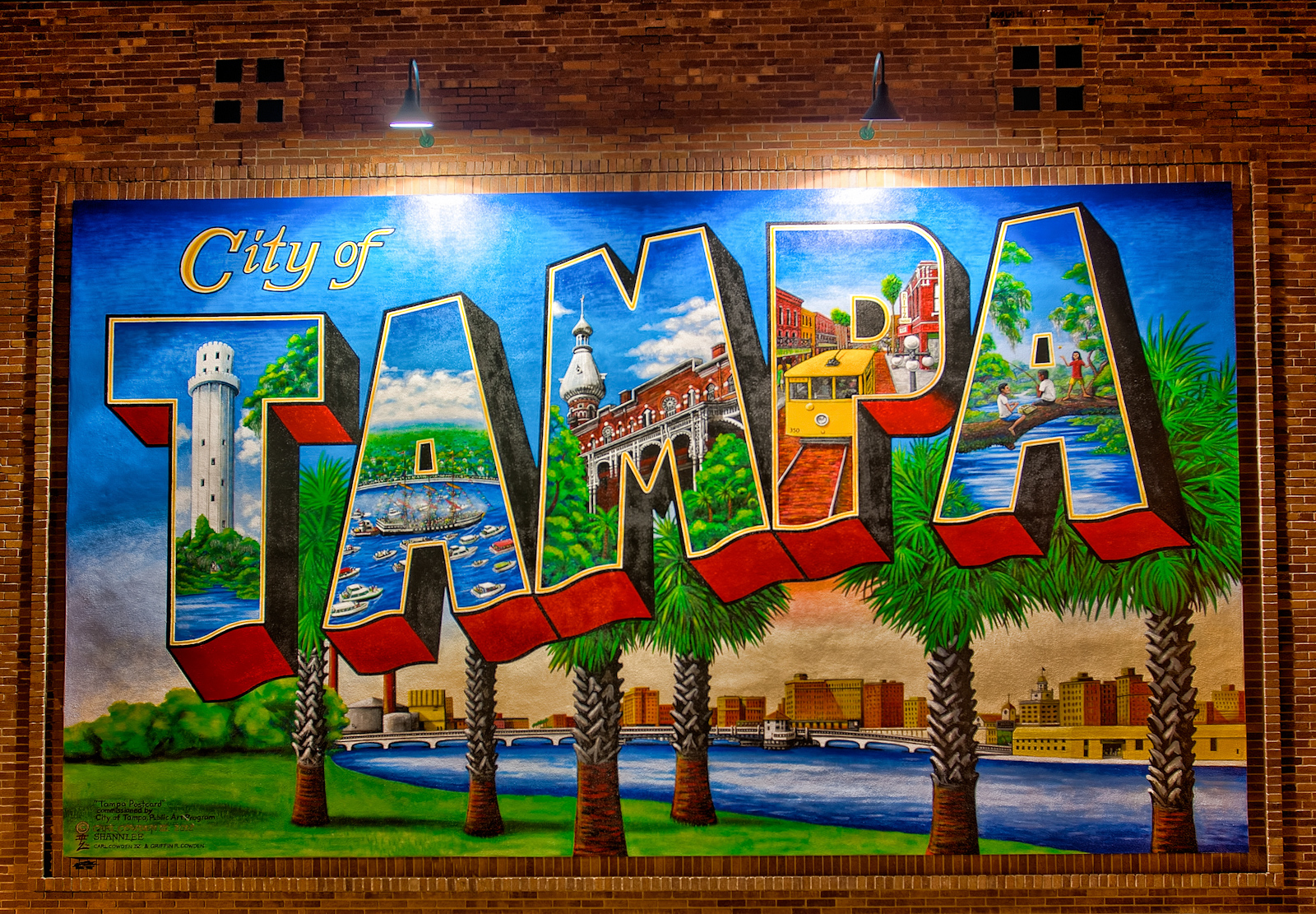 Welcome to Tampa Mural