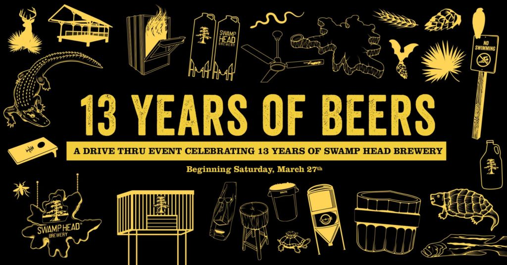 Swamp Head Brewery - 13 Beers for 13 Years event