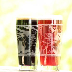 Swamp Head Brewery Special Commemorative Anniversary glassware