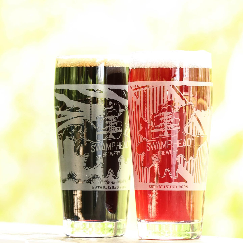 Swamp Head Brewery Special Commemorative Anniversary glassware