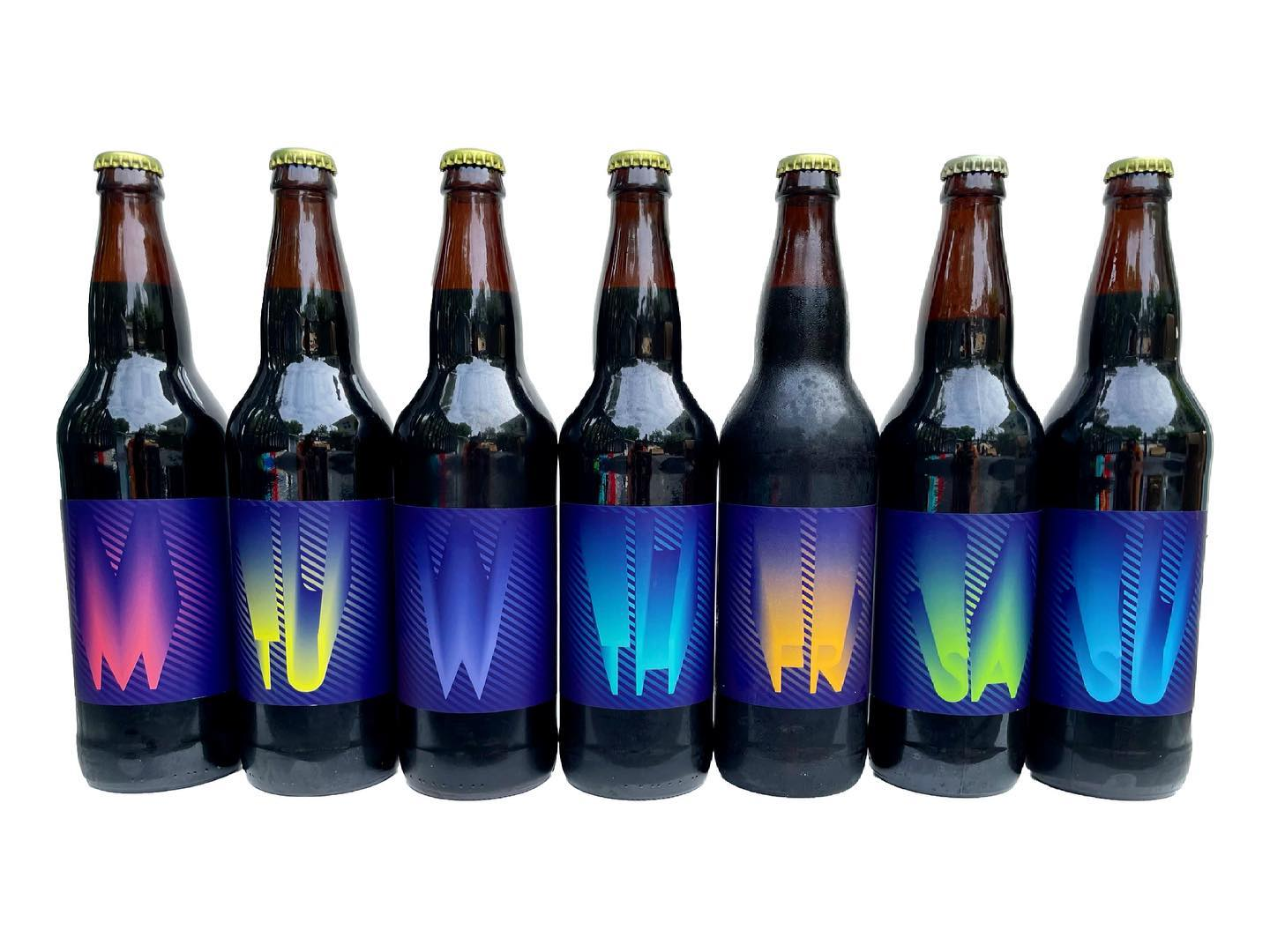 Cycle Brewing's 2021 Weekday Barrel-Aged Set
