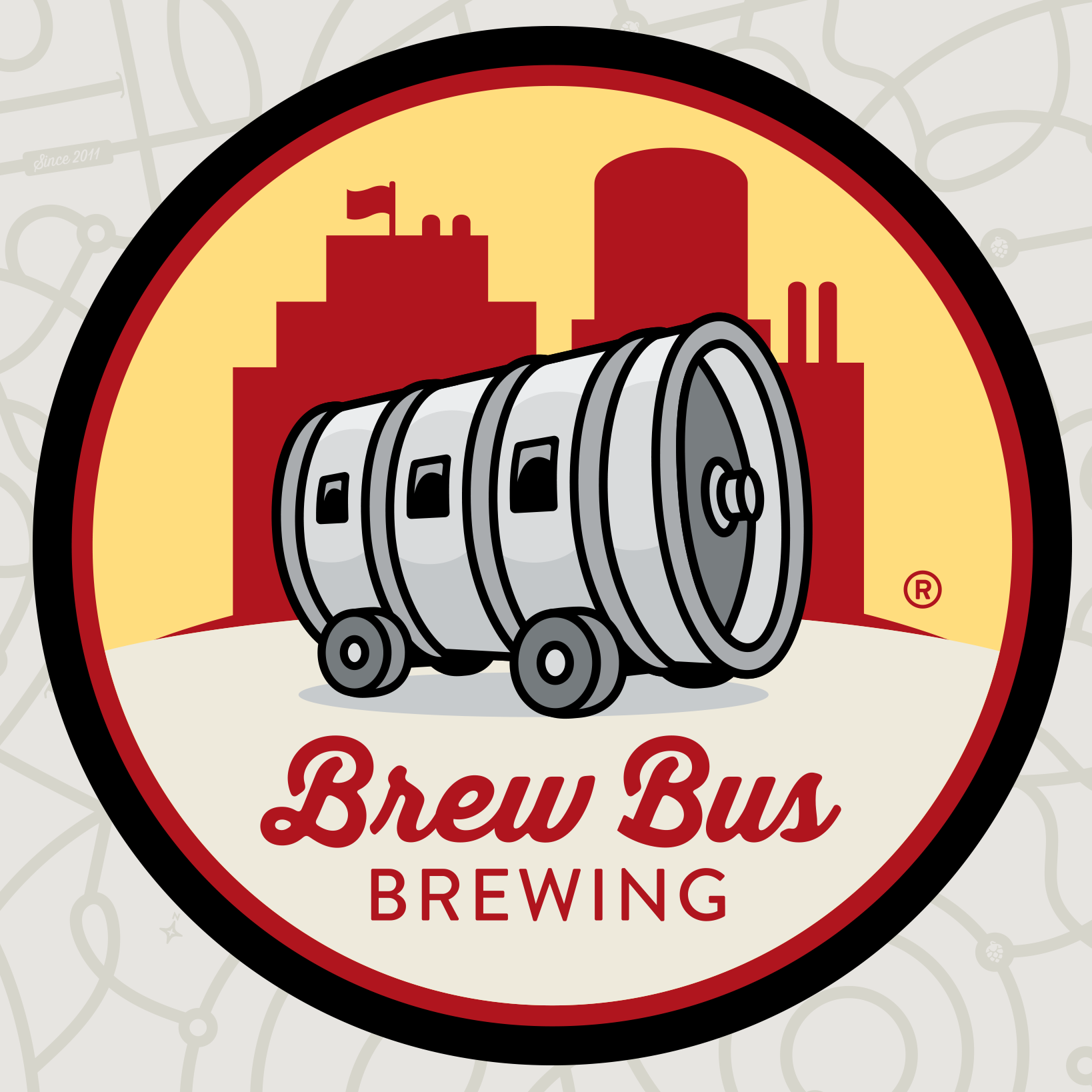 Brew Bus Brewing Logo