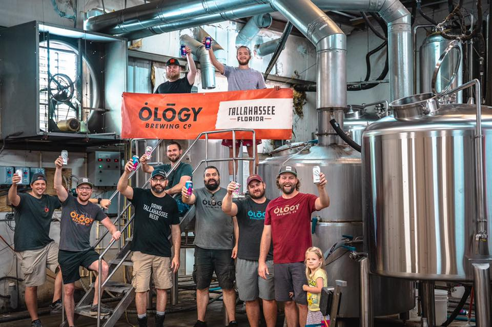 Ology Brewing group shot