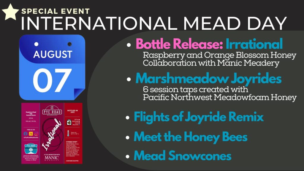 Pye Road Mead Day Graphic