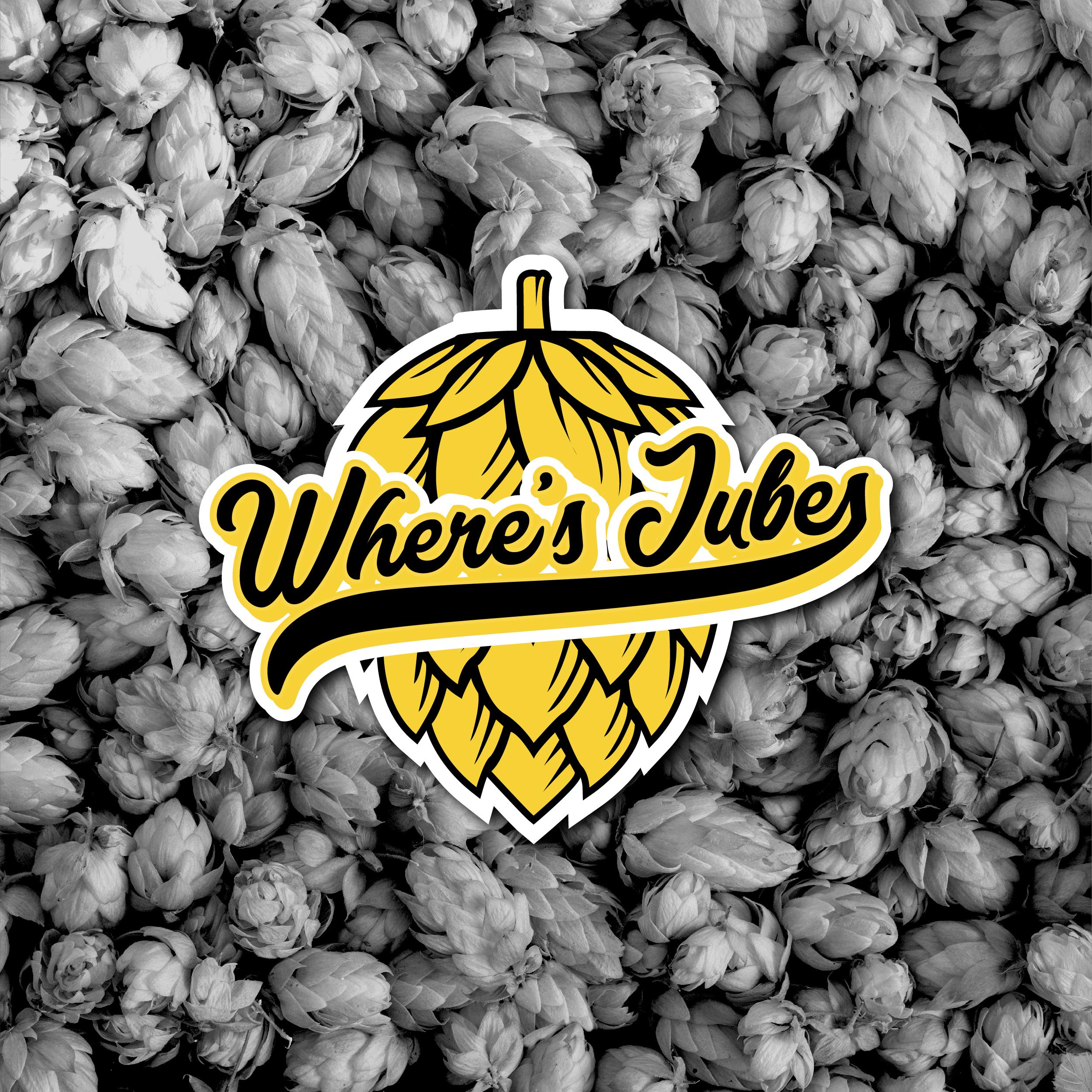 Where's Jubes launch logo