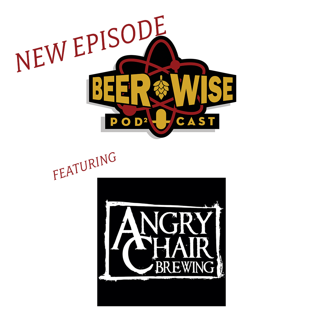 New Episode BeerWise and Angry Chair Brewing logos