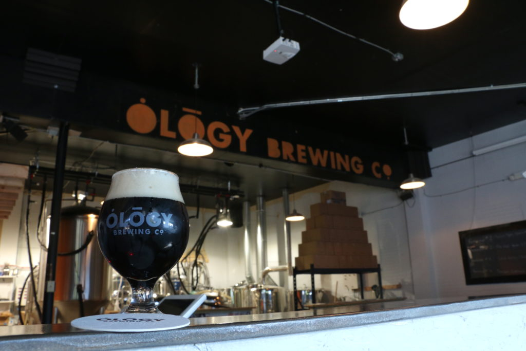 Interior of Ology Brewing Midtown